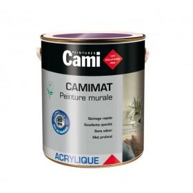 CAMIMAT Peinture mate acrylique pour finition soignée des murs - CAMI