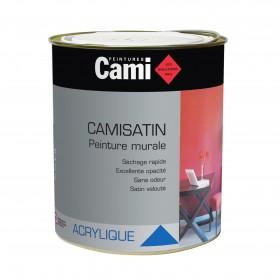 CAMISATIN Peinture satin acrylique pour finition soignée des murs - CAMI