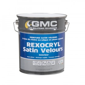 REXOCRYL SATIN PEINTURE ACRYLIQUE FONDS NEUFS - GMC