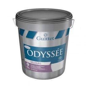 ODYSSEE VELOURS Peinture veloutée à base de résines alkydes en émulsion et acryliques - GUITTET