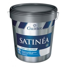 SATINEA+ MAT VELOURS Peinture d'aspect mat-velouté en phase aqueuse - GUITTET