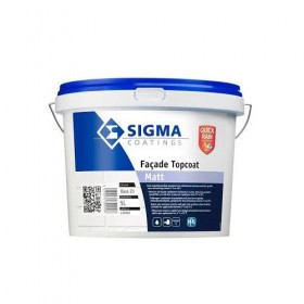 FAÇADE TOPCOAT Peinture façade à base de résine acrylique en phase aqueuse - SIGMA