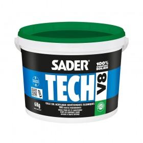 SADERTECH V8 colle acrylique très haute performances pour revêtements de sols - BOSTIK