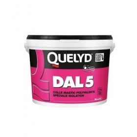DAL 5 Colle mastic polyvalente spéciale isolation - QUELYD