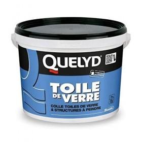 QUELYD TDV Colle prête à l'emploi pour toiles de verre et structures à peindre - BOSTIK