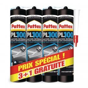 LOT 3 CARTOUCHES PL 100 + 1 GRATUITE - PATTEX