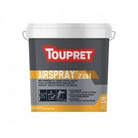 AIRSPRAY® 2 en 1 Airless enduit garnissant et lissant en pâte - TOUPRET