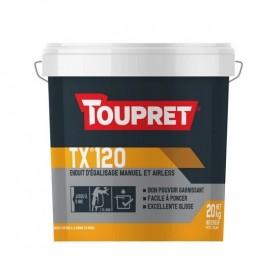 TX 120® Enduit d'égalisage manuel et airspray - TOUPRET