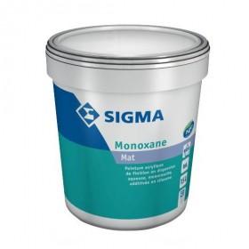 MONOXANE Peinture acrylique mate, additivée en siloxane - SIGMA