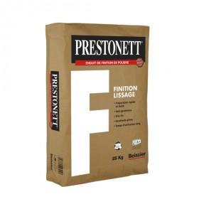PRESTONETT ENDUIT FINITION LISSAGE 25kg - BEISSIER
