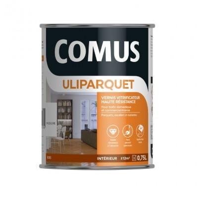 ULIPARQUET Vitrificateur alkyde-uréthane pour parquets, escaliers et boiseries - COMUS
