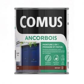 ANCORBOIS Peinture 2 en 1 pour la protetion et décoration du bois - COMUS