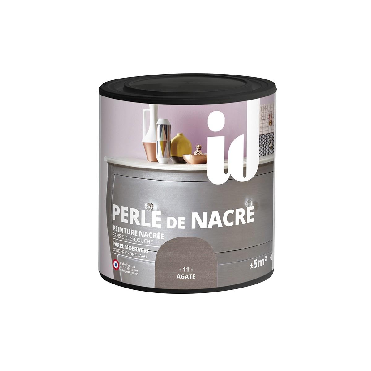 Peinture perle de nacre meuble id paris for Peinture meuble vernis